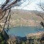 城址からの眺望(津久井湖)