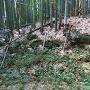 主郭 Ⅰ 南側土塁の石垣