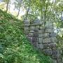 西門の石垣近影