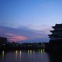 夜明けの清洲櫓