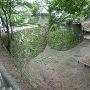 空堀と石垣