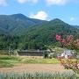 前松寺から見る室賀城