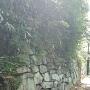 西櫓台石垣