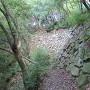 北の郭跡石垣