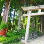 諏訪神社入口(35.873617, 137.211113)