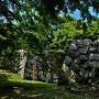 西櫓門跡石垣