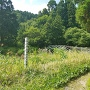 田谷沢道(登城口)