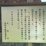 菱櫓跡の案内板