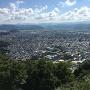 山上ノ丸・本丸から見た鳥取市中心部