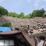熊本大神宮の本殿と、東十八間櫓跡