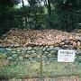 石垣の裏込石