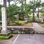 義景公園にある朝倉義景墓所