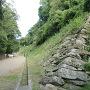 鶴の渓の石垣
