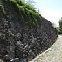 筒井城跡付近の石垣其の四