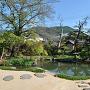 旧前島家住宅の庭園[提供:真田宝物館]