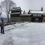東虎口櫓門(冬)