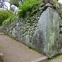 本丸升形の鏡石