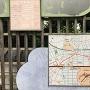 元禄堤の案内板