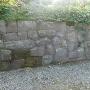 切手門付近の石垣