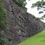 宮殿裏の石垣