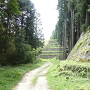 菱櫓跡付近石垣