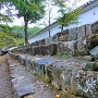 搦手門本丸側の石垣
