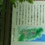 茶臼山城(本城側)説明板