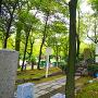 志賀公園内「平手政秀宅跡」