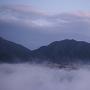 立雲峡第1展望台より