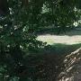 土塁と空堀(長松院)