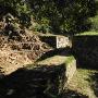 物見台下虎口の石垣