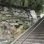 石垣。登山の始まり
