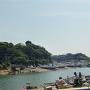 長井城遠景
