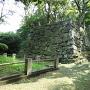 西二の丸の石垣