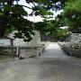 下乗橋と黒門跡の石垣其の弐