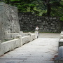 下乗橋と黒門跡の石垣其の参