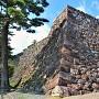 三の丸石垣(東側)