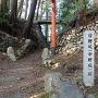 日野城跡石碑