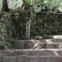 天守への階段