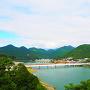 本丸からの眺望①◆熊野川を望む