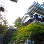池田時代の石垣と鉄櫓