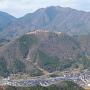 立雲峡から望む竹田城