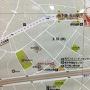 地下鉄玉川駅付近案内図