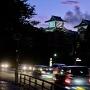 夕暮れ時の石川櫓