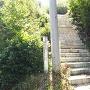 節黒城旧道入口(37.195980,138.734006)