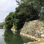 本丸南側石垣(西寄り)