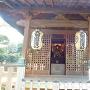 太田道灌公の木像(遠景)