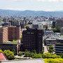 熊本城天守から眺めた市内の風景[提供:キロクマ!]