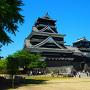 青空の下の熊本城[提供:キロクマ!]