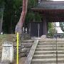 春日山林泉寺の移築門である、上杉鷹山の家臣、竹俣當綱家の門